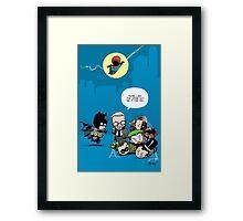 Gotham babies Framed Print