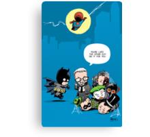 Gotham babies Canvas Print