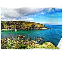Entrance to Port Isaac Poster