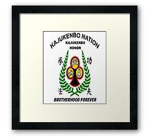 Kajukenbo Nation, Kajukenbo Honor Framed Print