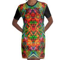 MKultra 777 Graphic T-Shirt Dress