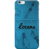 Locans Decomposition Book iPhone Case/Skin