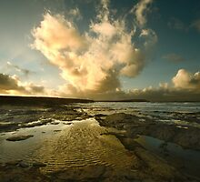 Heart of the Storm- Vintage Edition - Newtrain Bay - Cornwall by Samantha Higgs