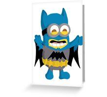Batminion Greeting Card