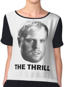 """Phil """"The Thrill"""" Kessel Chiffon Top"""