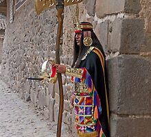 Incan Warrior by phil decocco