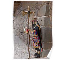 Incan Warrior Poster