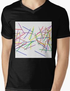 Slpash Art Mens V-Neck T-Shirt