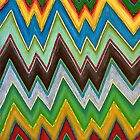 Chevron (Square) by Lisa Frances Judd~QuirkyHappyArt