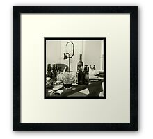 The Beer Table of ___ Framed Print