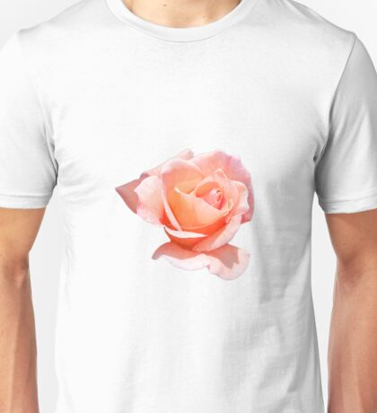 Peach Rose Unisex T-Shirt