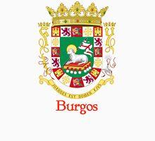 Burgos Shield of Puerto Rico Unisex T-Shirt