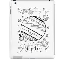 Jupiter and the Outer Space Jellyfish iPad Case/Skin