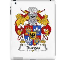 Burgos Coat of Arms/Family Crest iPad Case/Skin