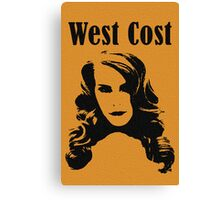 West Cost Canvas Print