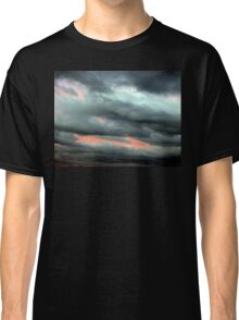 COLORFUL VERTICAL CLOUDS Classic T-Shirt