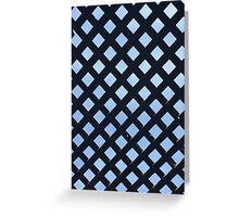 Diamonds in the Sky - Wood Pattern Greeting Card