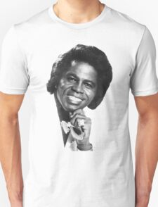 James Brown Portrait Unisex T-Shirt