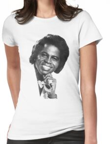 James Brown Portrait Womens Fitted T-Shirt