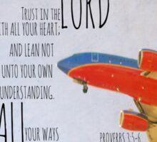 Proverbs 3 Trust Sticker