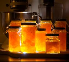 Nighttime in the Kitchen - Spotlight on Cumquat Jam by Clare Colins