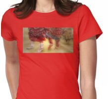 The Jingle Dress Dance Womens Fitted T-Shirt