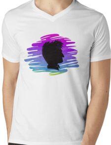 10th Silhouette Mens V-Neck T-Shirt