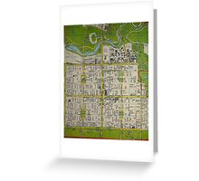 Adeliade City  Greeting Card