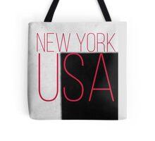 NEW YORK USA Tote Bag