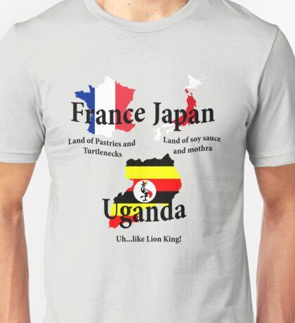 UGANDA...like Lion King! Unisex T-Shirt