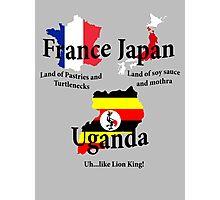 UGANDA...like Lion King! Photographic Print