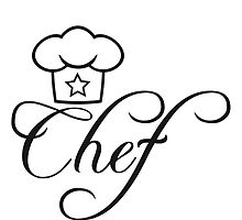 Head Chef's hat star by Style-O-Mat