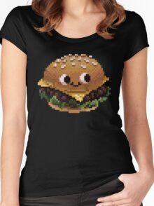 Pixel Burgie Women's Fitted Scoop T-Shirt