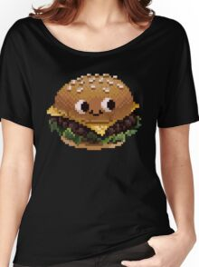 Pixel Burgie Women's Relaxed Fit T-Shirt