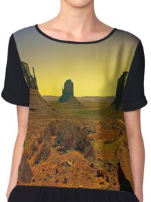 Valley of The Navajo Chiffon Top