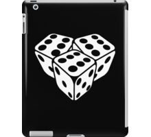 666 dice iPad Case/Skin