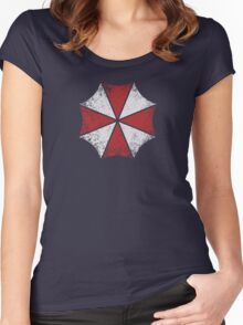 Umbrella Corp Tee Women's Fitted Scoop T-Shirt