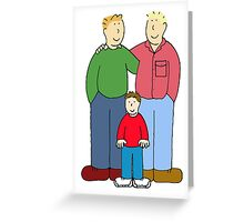 Wishing you a gay Father's Day Greeting Card