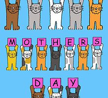 Happy Mother's Day with cats. by KateTaylor