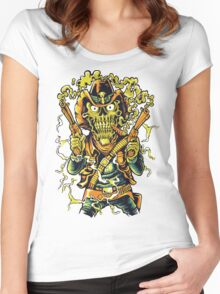 mad zombie Women's Fitted Scoop T-Shirt