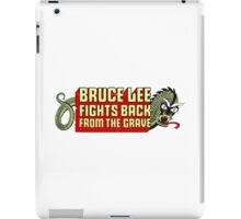Bruce Li Fights Back Logo iPad Case/Skin