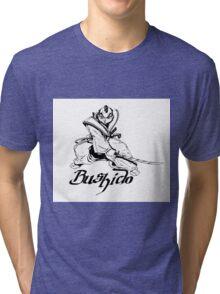 """Bushido"" Artwork by Carter L. Shepard"" Tri-blend T-Shirt"