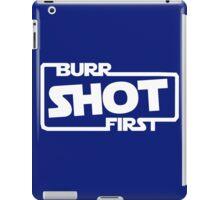 Burr Shot First Square iPad Case/Skin