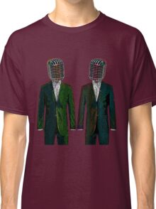 Twin Mikes In Green Classic T-Shirt