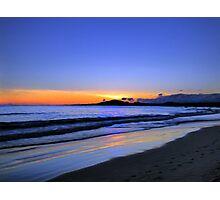 Isabela Sunset Painting Photographic Print
