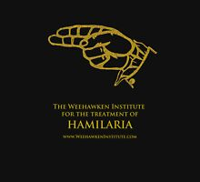 Weehawken Institute in Gold Unisex T-Shirt