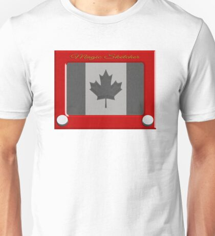 Magic Sketcher Canada Unisex T-Shirt