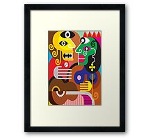 abstracto Framed Print