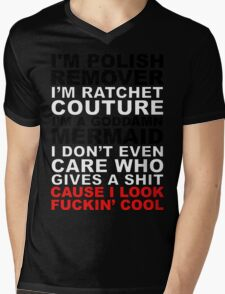 I'm Ratchet Couture Mens V-Neck T-Shirt