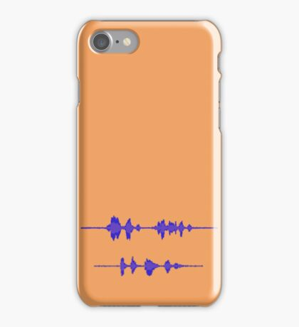 Sounds Like Sherlock Holmes, Consulting Detective, and Dr John Watson iPhone Case/Skin